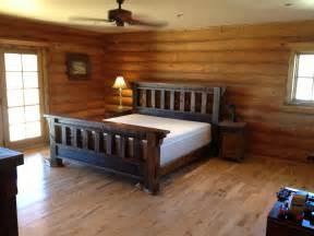 Wooden Bed Frame Interior Design Rustic Bedding Color Designs Bath Bed