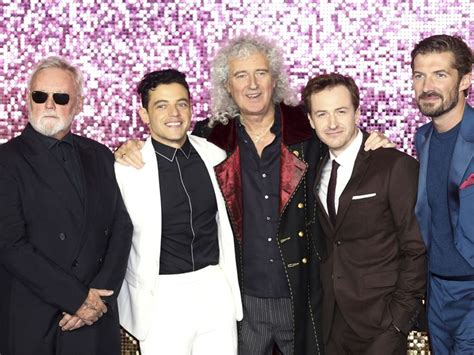 brian may young gwilym lee bohemian rhapsody film freddie mercury would have loved