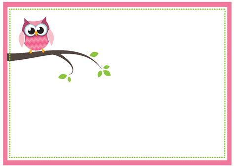 baby shower favor templates free owl favor templates just b cause