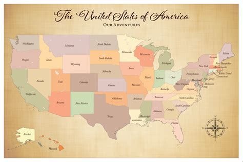us map with states jquery sale united states push pin travel map with pins 24 x 36