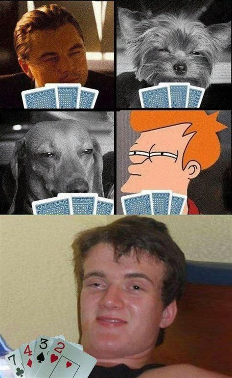 Meme Poker - card game 10 guy know your meme