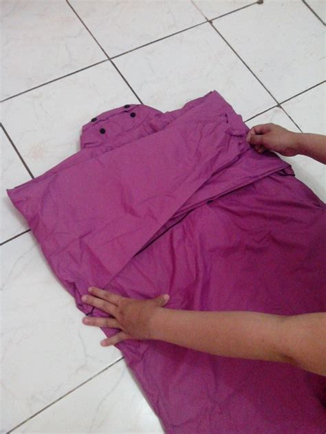 Melipat Batas perlengkapan hujan cara melipat jas hujan sun flower