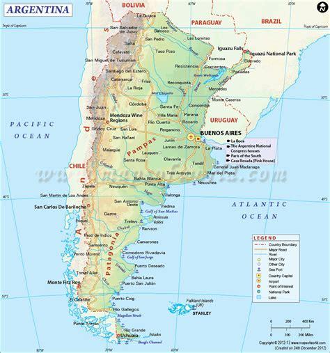 printable map argentina gioca le tue carte in giro per il mondo l argentina