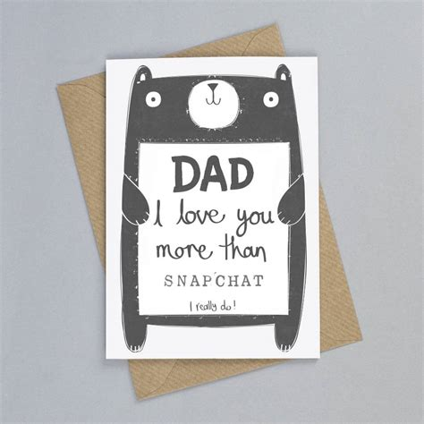 Dads Birthday Card Personalised Daddy Birthday Card By Tandem Green
