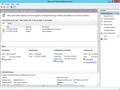 User Mapped Section Open by Oakleaf Systems Back Up And Restore Windows 8 Server Beta