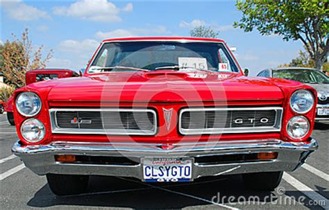 general motors pontiac division classic pontiac gto car editorial stock photo