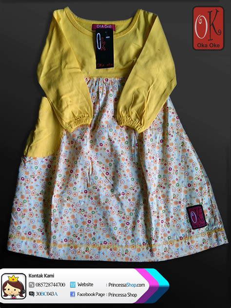 Gamis Anak Size 8 By Almia gambar baju gamis model terbaru produk konveksi oka oke