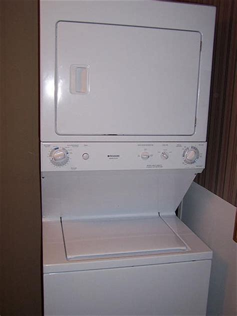 stacked washer and dryer washer dryers frigidaire stacked washer dryer