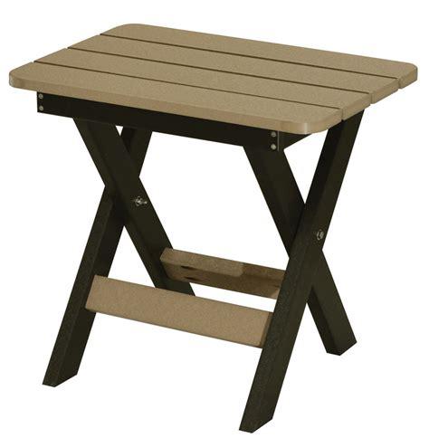 folding accent table folding end table ohio hardwood furniture