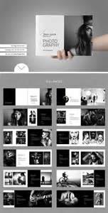 minimalist resume template indesign album layout imgn market portfolio photobook brochure templates creative market