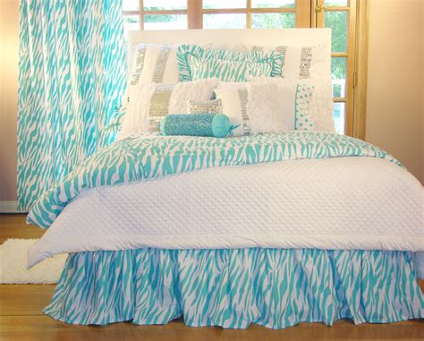 turquoise bedspreads and comforters turquoise zebra bedding interiordecorating