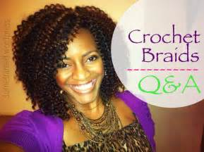 what type of hair do you crochet braids 26 natural hair protective style crochet braids q a