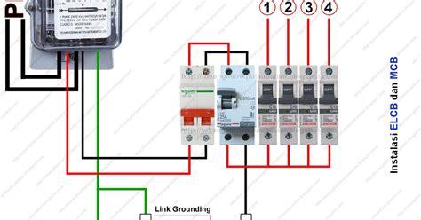 Elcb Pengaman Listrik Dari Kesetrum cara memasang elcb earth leakaque circuit breaker tukang listrik batam