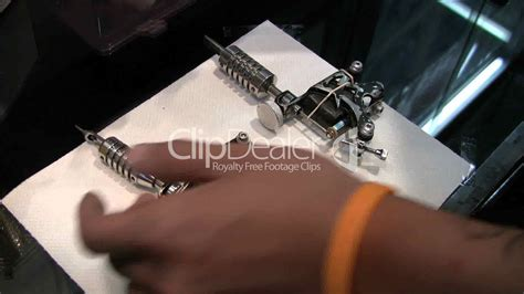 tattoo needle sound effect tattoo needles being prepared royalty free video and
