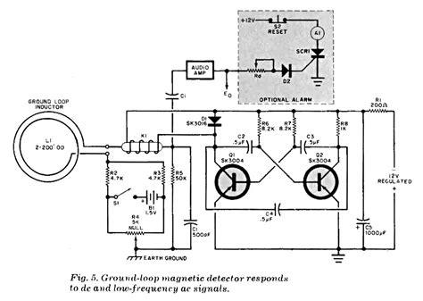 induction loop circuit vehicle loop detector schematic wiring diagrams wiring diagrams