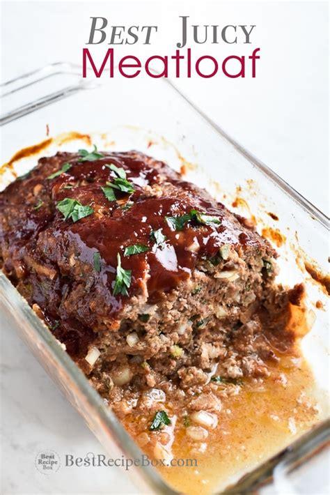 meatloaf recipe best best meatloaf recipe moist easy