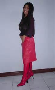 leather skirt and knee boots johnerly03 flickr