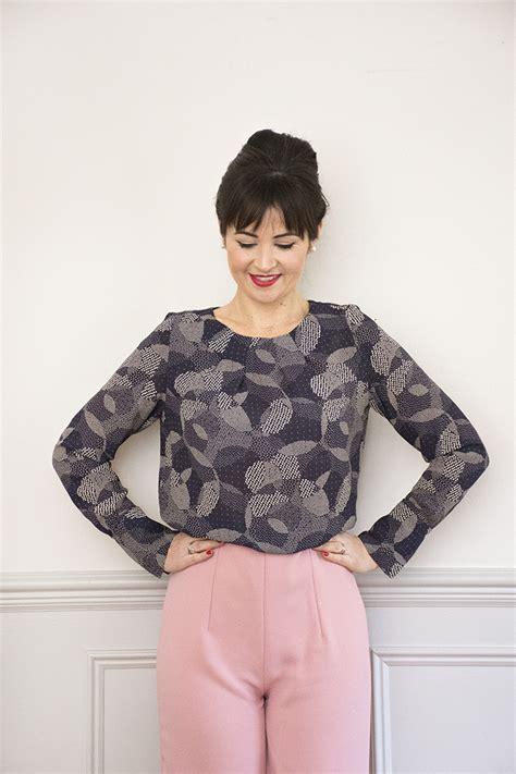 Blouse Clara Sew It Clara Blouse Pdf Sewing Pattern Sew It