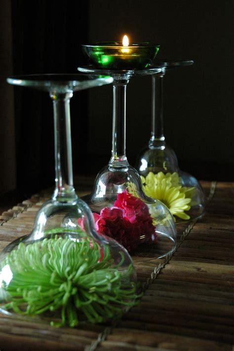 Wine Glass Centerpieces Google Search Wedding Ideas Wine Glass Wedding Centerpieces