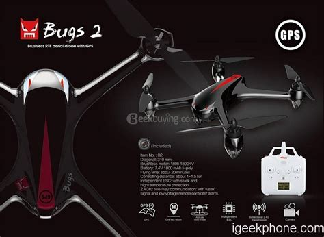 Exclusive Drone Mjx Bugs 2 W Rth B2w Brushless Fpv 1080p Wifi mjx bugs 2 b2w b2c rc quadcopter review with coupon