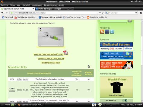 tutorial linux mint pdf tutorial como instalar linux mint 11 taringa