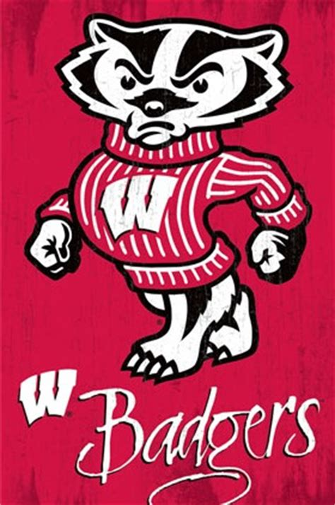university of wisconsin uw badgers college football sports