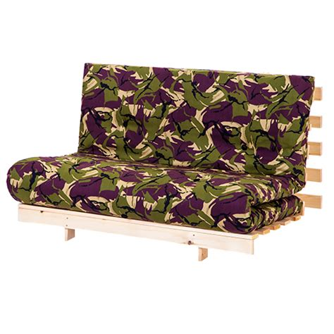 Camouflage Futon by Jungle Camouflage 4ft 125cm Futon Frame