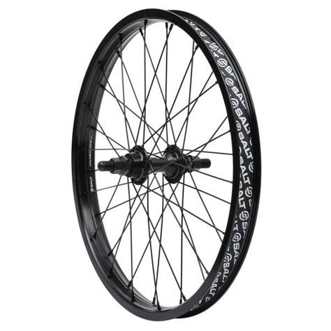 Exclusive Rims Bmx United Wall Paling Murah salt rookie rear wheel black probikeshop