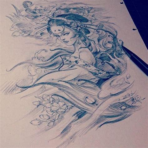 tattoo japanese sketch chronic ink tattoo toronto tattoo sketch by master ma
