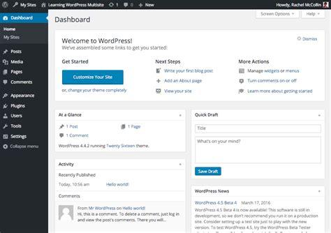 tutorial wordpress multi user wordpress multisite masterclass activation and