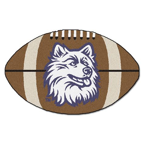 rug football of connecticut of connecticut football rug 22 quot x35 quot by oj commerce 4410a