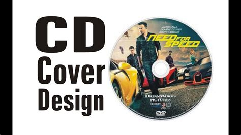 design label cover how to create a cd or dvd label or cover design using