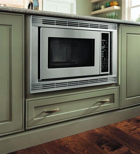 Microwave Kitchen Cabinet Base Built In Microwave Cabinet Kitchen Island Pinterest Microwave Cabinet Microwave