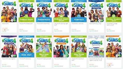 Sale All origin mega sale all sims 4 titles on sale simsvip