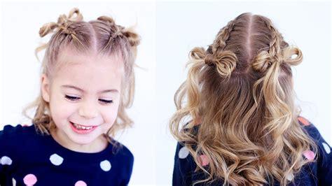 cute girl hairstyles youtube bow dutch braid hair bows cutegirlshairstyles youtube
