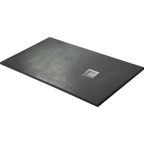 douchebak mitola shower tray super slim graphite black ral 9005