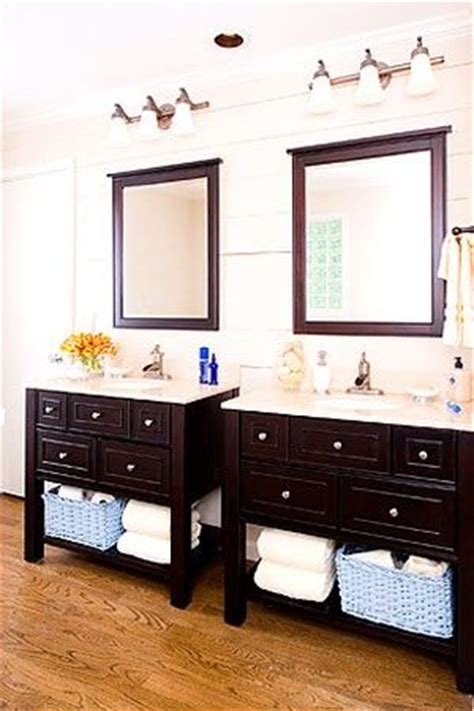 bathroom vanity with her his and hers vanities bathroom and sinks