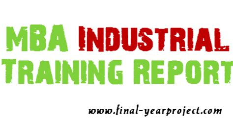 Mba Trainee In by Mba Industrial At Cham Synthropes Industries Pvt
