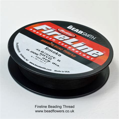 beading thread fireline ko nymo beadflowers