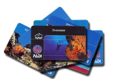 dive card padi divemaster course scuba diving subic bay philippines