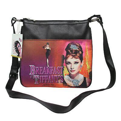 audrey hepburn licensed radio days aliz crossbody shoulder messenger bag nwt  ebay