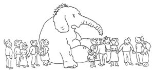 there is an elephant in the room poem st louis chapter of the bereaved parents of the usa