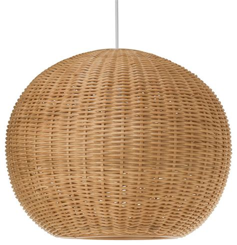 Wicker Pendant Light Wicker Pendant Light Tropical Pendant