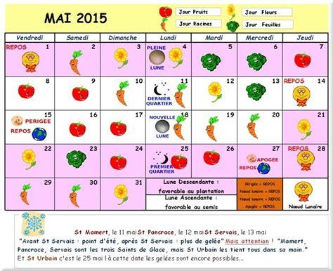 Calendrier Lunaire Jardin Juillet 2015 Jardiner Avec La Lune 2015 Calendrier Lunaire