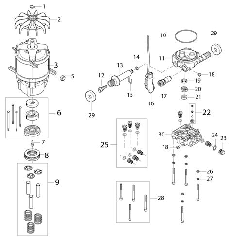 Nilfisk E130 2 8 Eu nilfisk c120 1 valve kit nilfisk part no 126486773