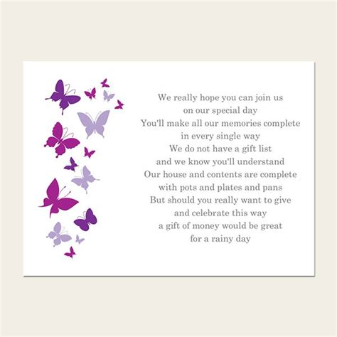 poems about gifts gift poem cards summer butterflies