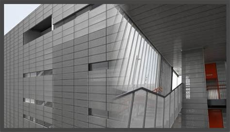 perforated sheet aluminum acoustical panels sound barrier