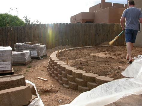 retaining wall ideas diy blocks standard beccfdfcce modern