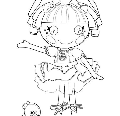 free printable coloring pages lalaloopsy free coloring pages of lalaloopsy boy