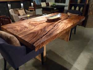 Table En Buche De Bois
